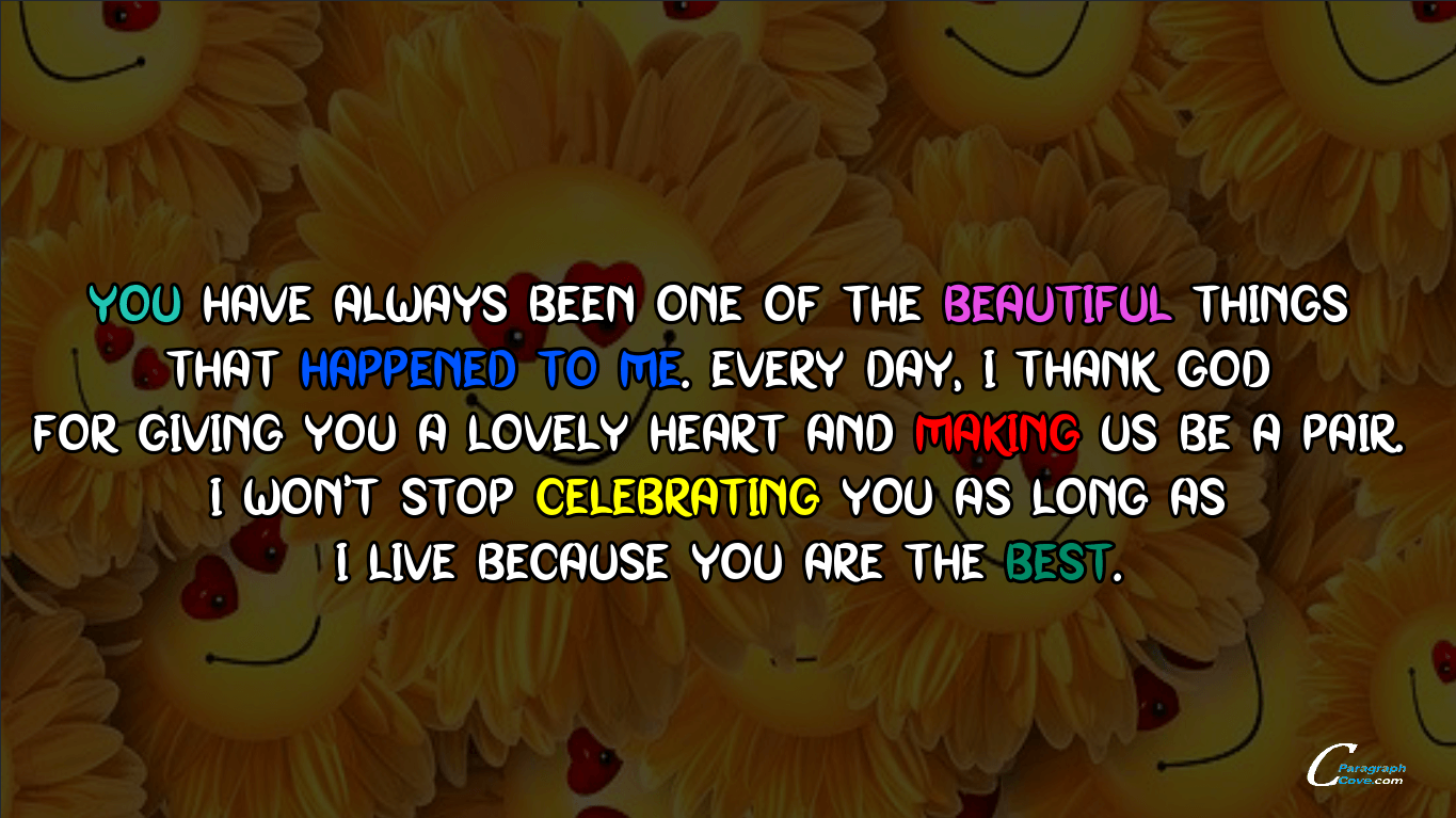 Cute Paragraph for Her with Emojis